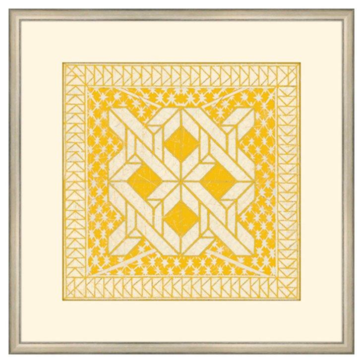 Small Yellow Tile I