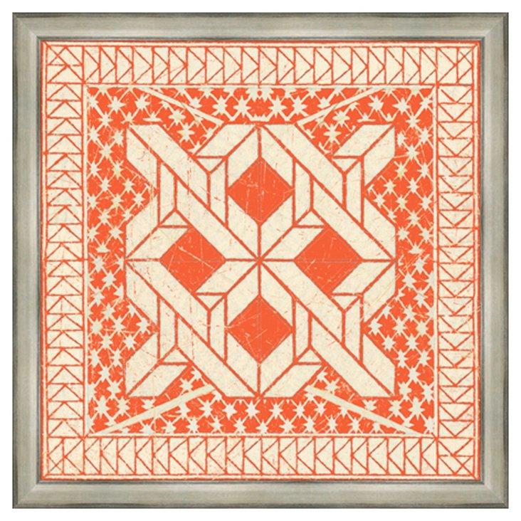 Tangerine Tile I