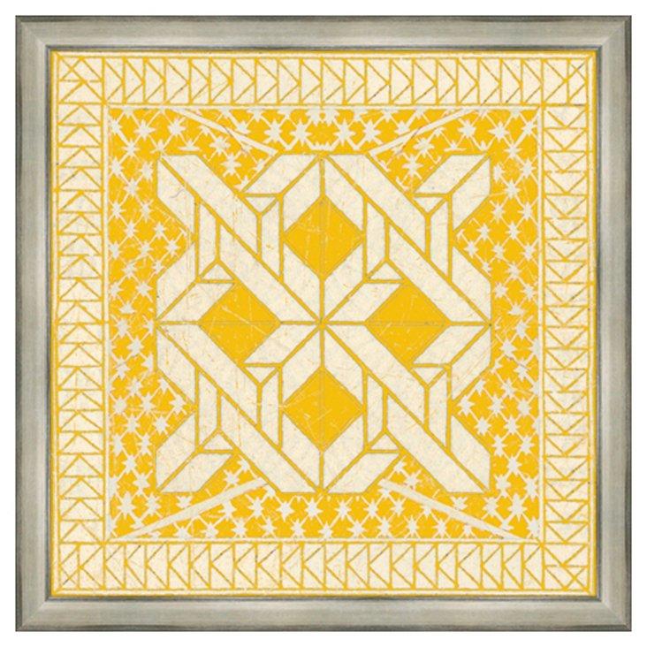 Yellow Tile I