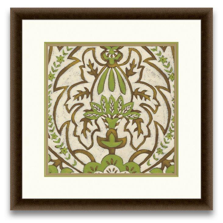 Lotus Tapestry Print II