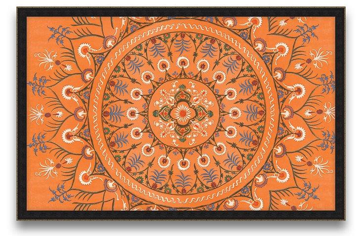 Uzbekistan Patterns Print III