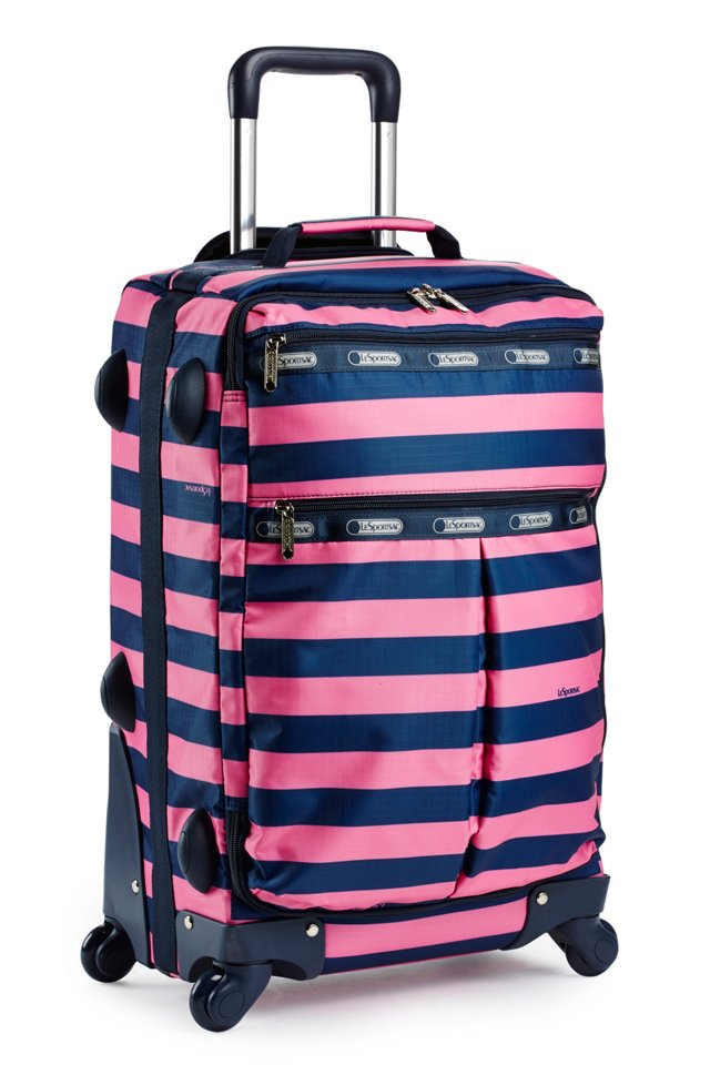 """22"""" 4-Wheel Int'l Carry-On, Rugby"""