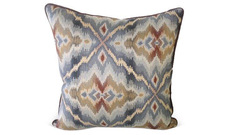 Huckleberry 22x22 Pillow, Multi