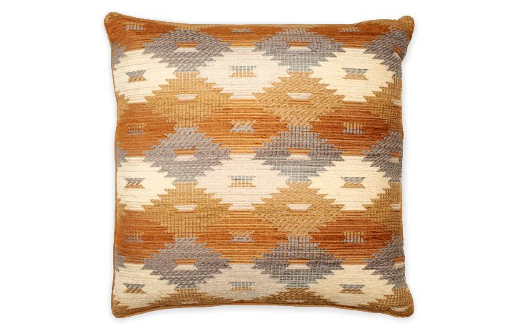 Kilim 22x22 Pillow, Multi