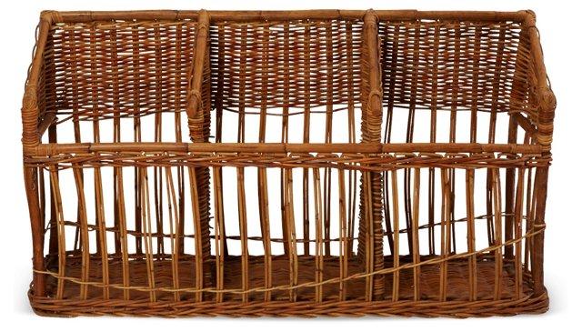 French Boulangerie Baguette Basket