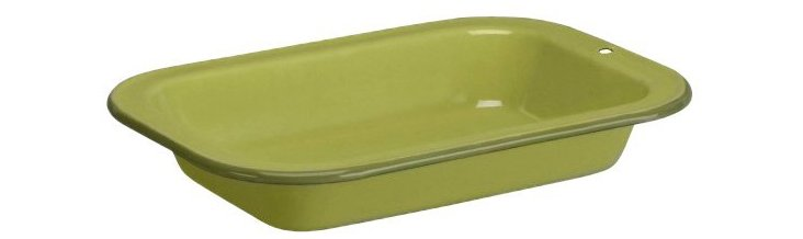 8.5 Qt Trend Ware Open Roaster, Lime