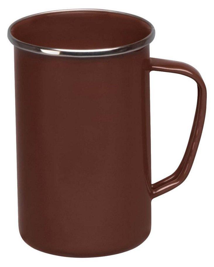 S/4 Tall Mugs, Chocolate