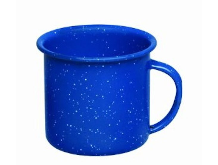 S/4 Coffee Mugs, Blue