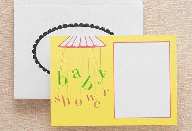 Lemon Tree S/20 Baby Shower Invites