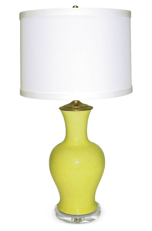 Sunflower Table Lamp, Yellow
