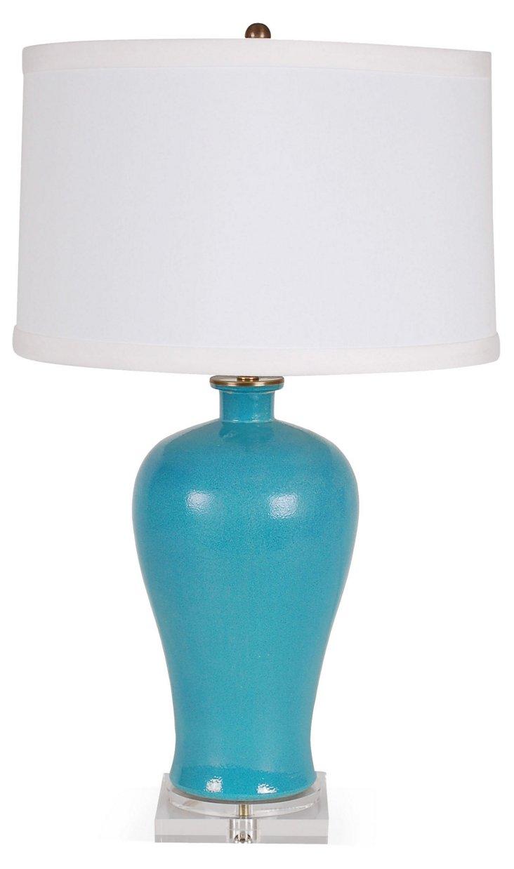 Mai Ping Table Lamp, Blue