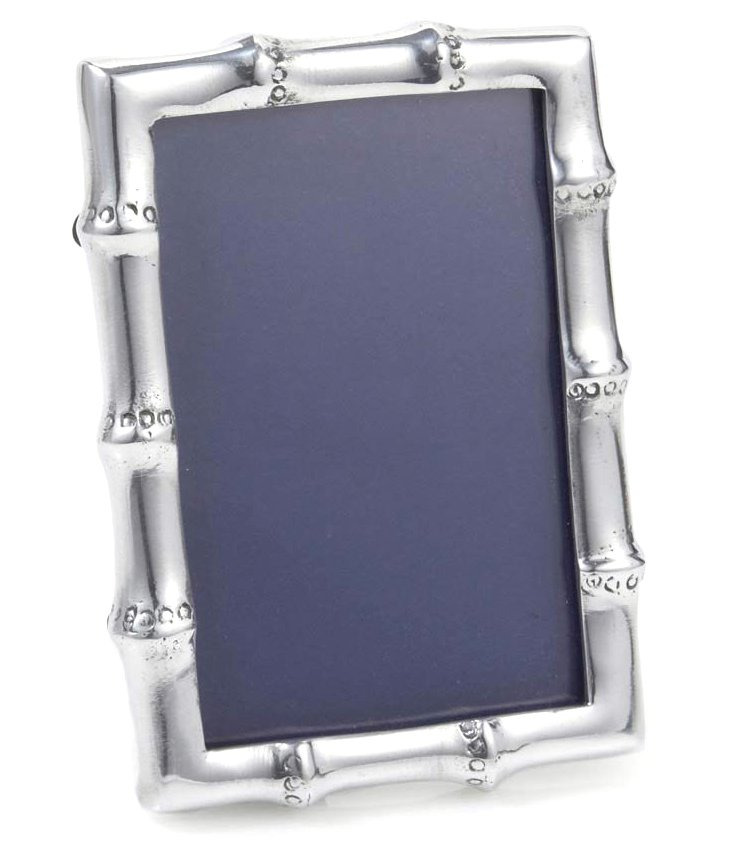 4x6 Bamboo Frame, Silver