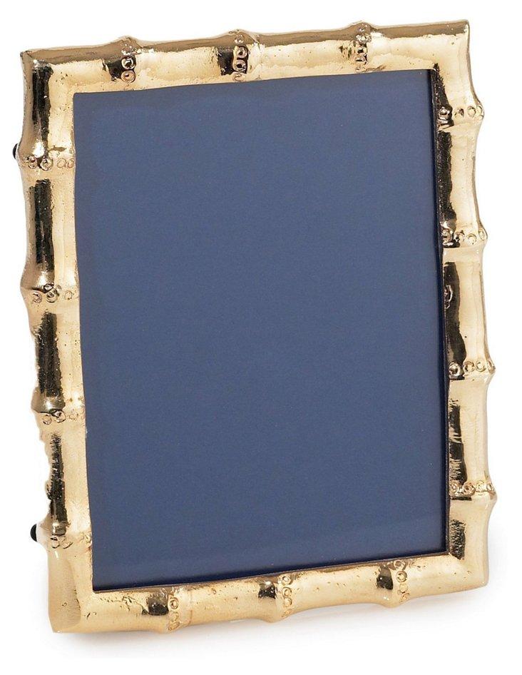 24-Kt Gold-Plate Bamboo Frame, 5x7