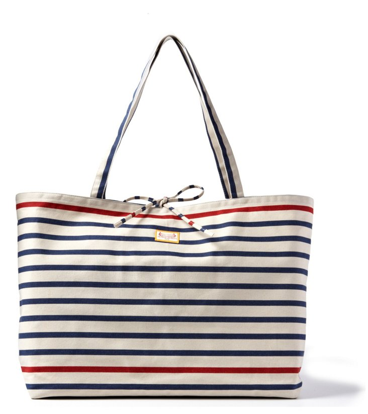 Large Tote, Marin Rouge