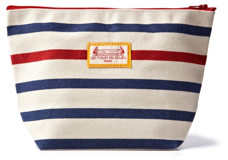 Large Cosmetic Case, Marin Rouge