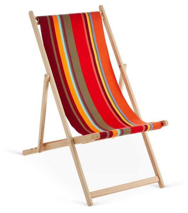 Deck Chair, Collioure Rouge