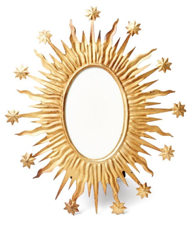 "10"" Destina Starry Frame, Gold"
