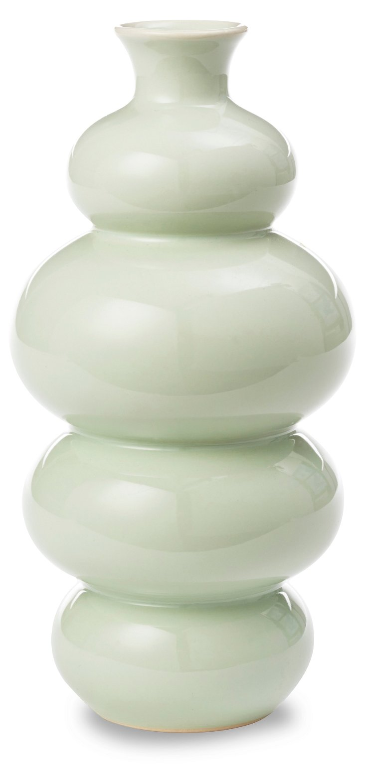 """9"""" Araminta Vase, Light Green"""