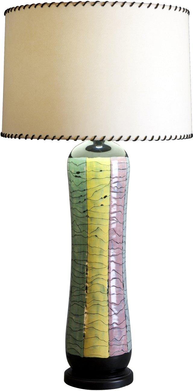 Large San Paolo Ceramic Lamp
