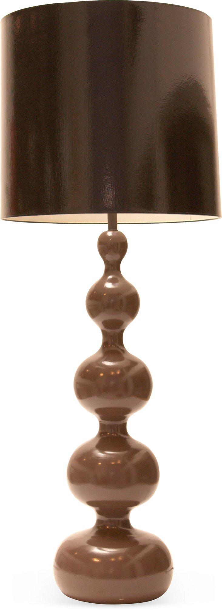 1970s Gourd Lamp