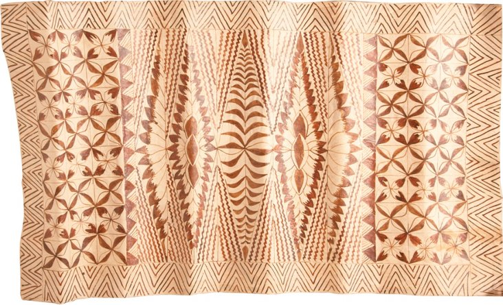 Tapa Cloth Panel V