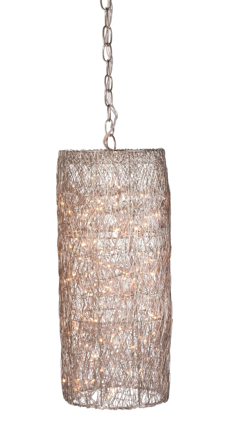 Twinkle Hanging Lamp, Silver