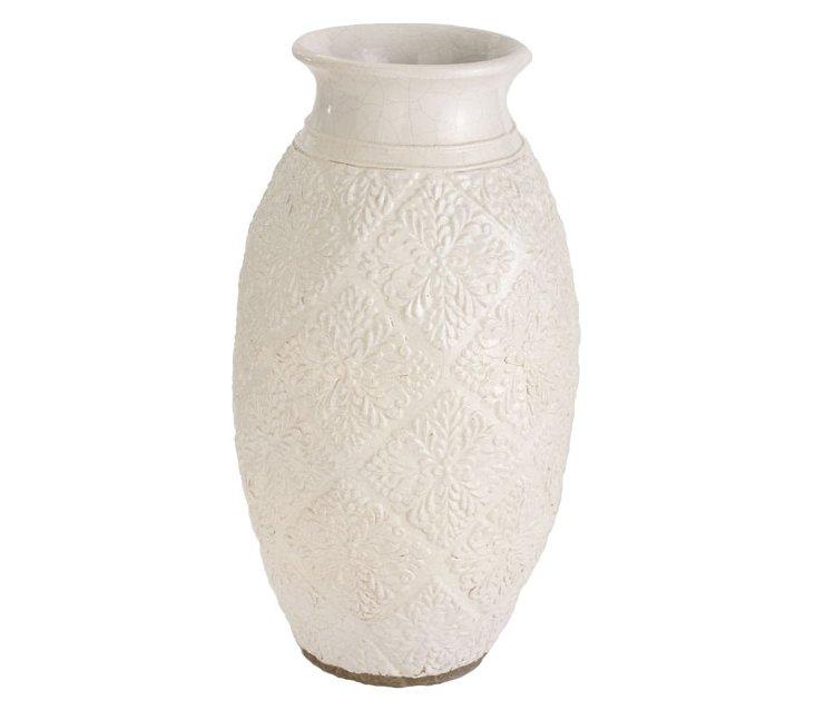 Milk Trellis Pot
