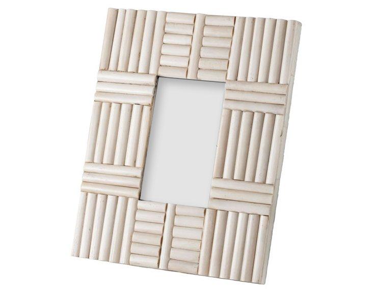 5x7 Bone Rod Frame