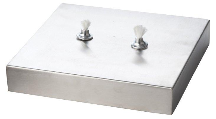 Steel Square Oil Lamp