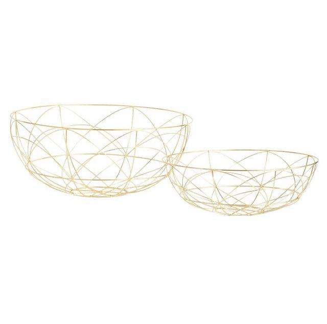 Gold da Vinci Bowls, Asst. of 2