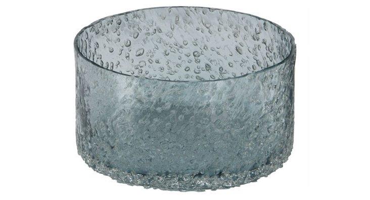 Winter Rock Salt Bowl