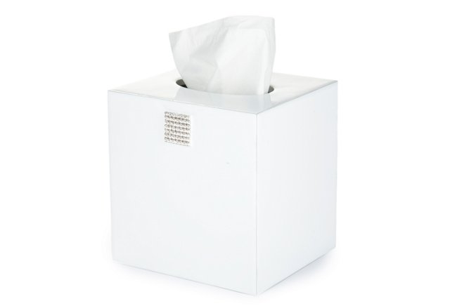 Jensen Tissue Boutique, White