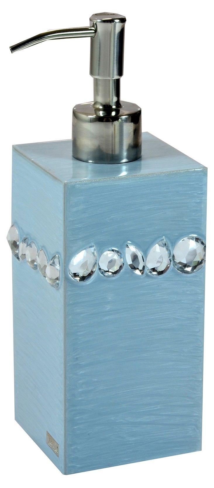 Zsa Zsa Lotion Pump, Winter Sky/Silver