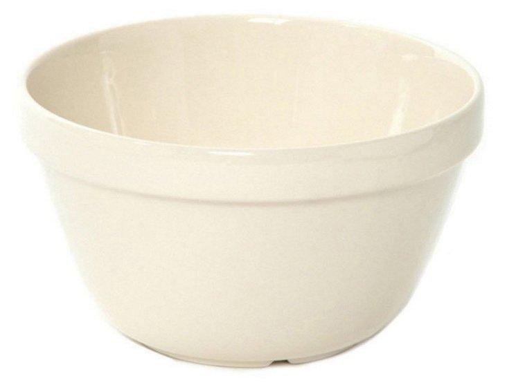 S/2 White Mixing Bowls, 1.25 Qt