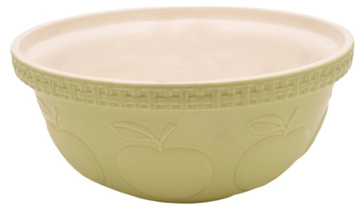 Apple Green Mixing Bowl, 5.21 Qt