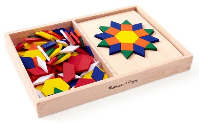 Mosaic Pattern Blocks & Boards