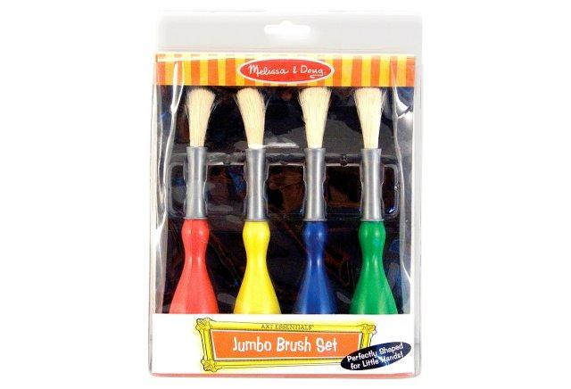 S/2 Jumbo Paint Brush Set