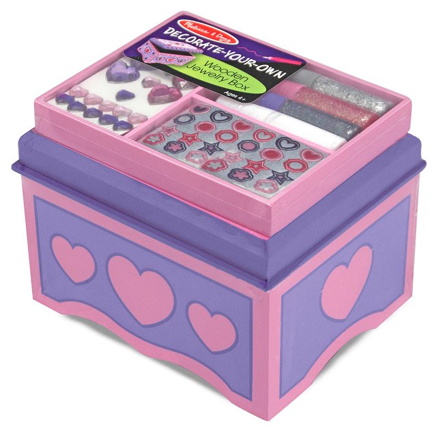 Decorate Your Own Jewelry Box
