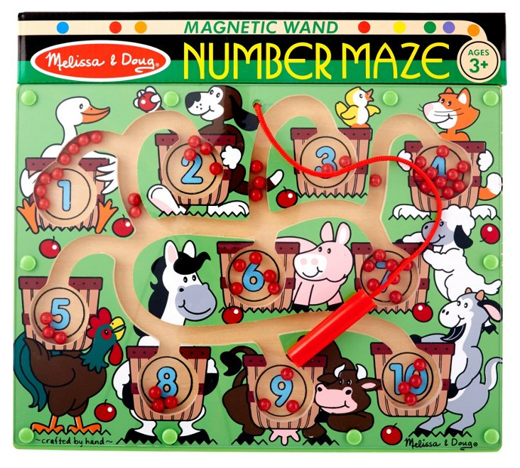 Magnetic Number Maze