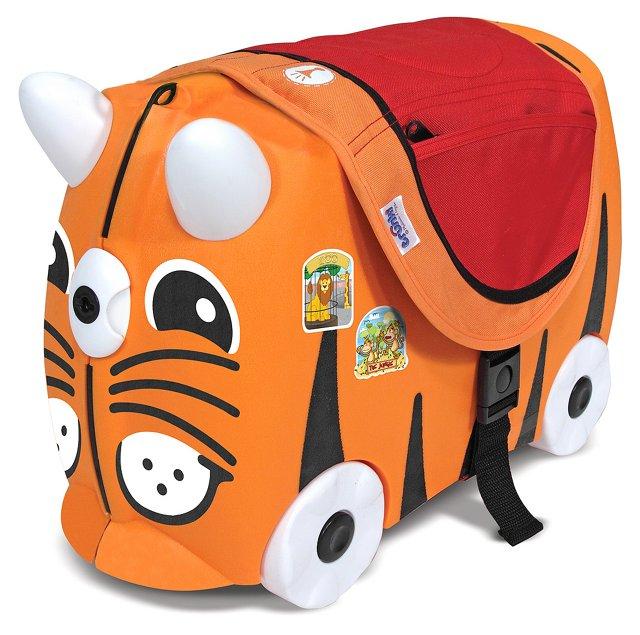 Ride-On Cat Travel Bundle, Orange