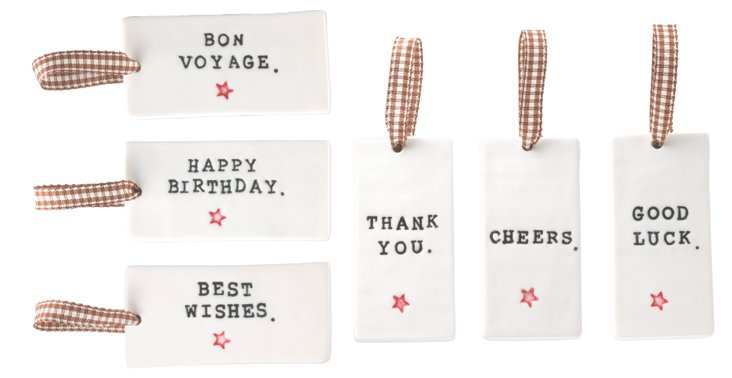S/6 Gift Tags