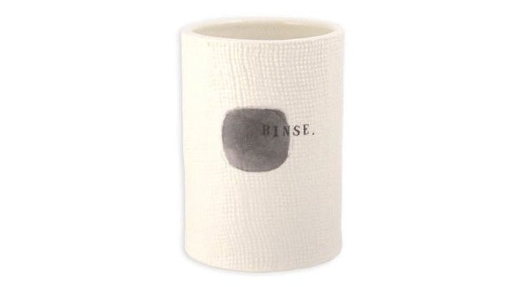 "Bathroom ""Rinse"" Cup"