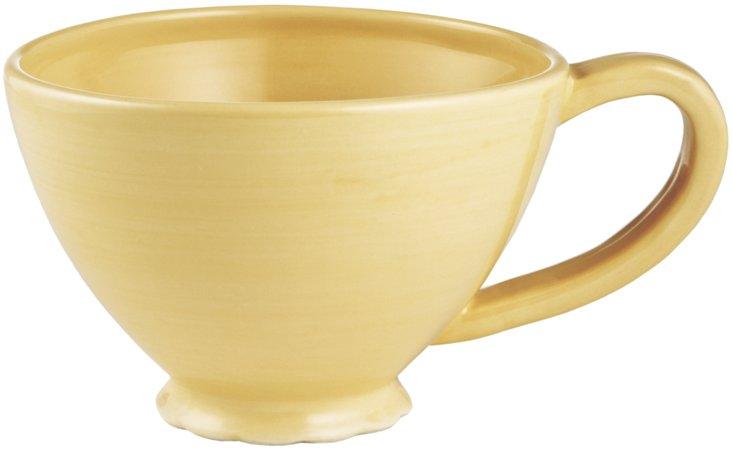 Scallop Mug, Yellow