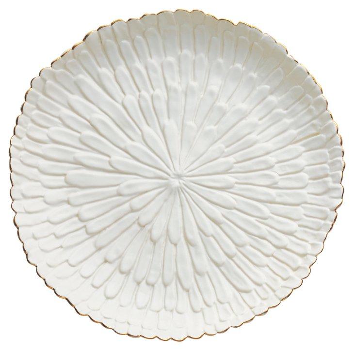 White Mum Platter