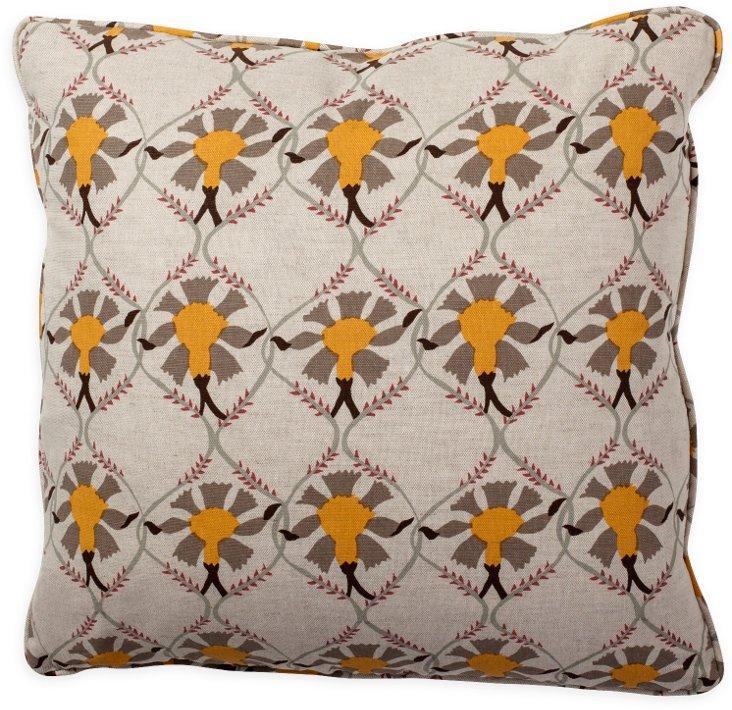 Samode Taupe Pillow