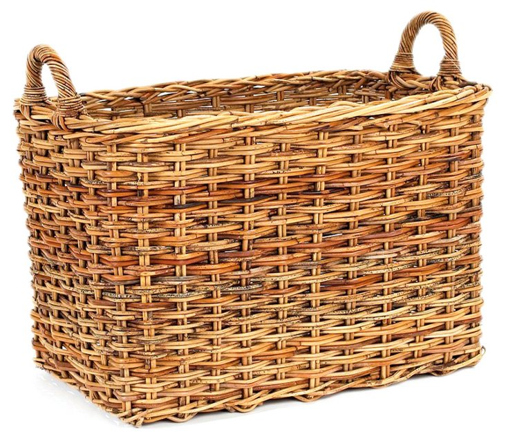 """French Country Storage Basket, 21"""""""