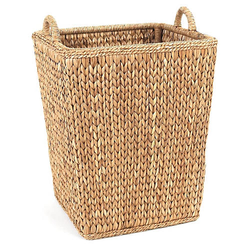 Sweater-Weave Orchard Basket