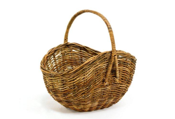 Dakota Flower Gathering Basket