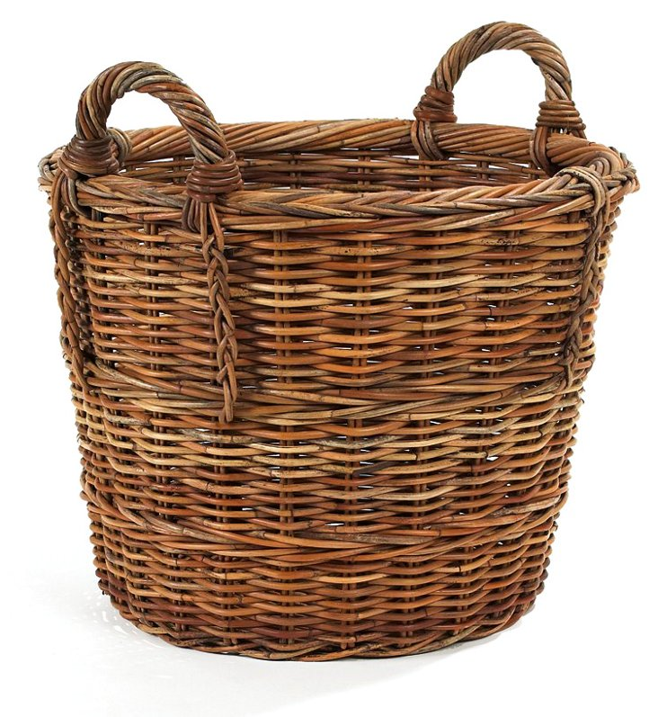 French Country Round Basket, 22""