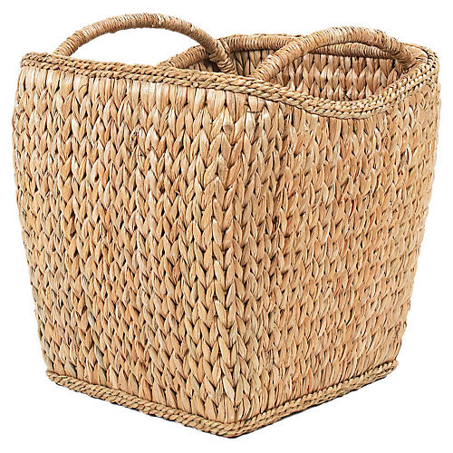 Sweater-Weave Basket, 20""